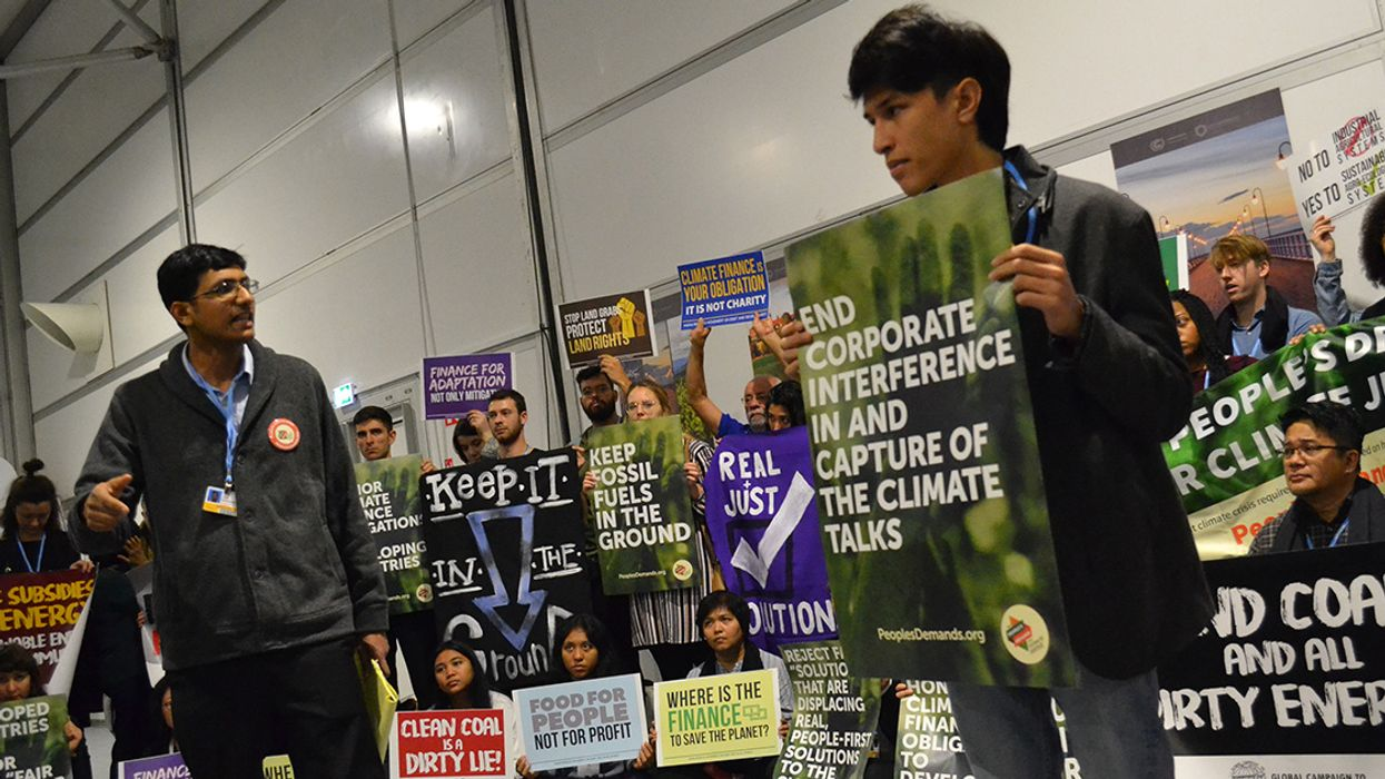 Transformative Climate Action Is Possible — if Polluters Stay Away