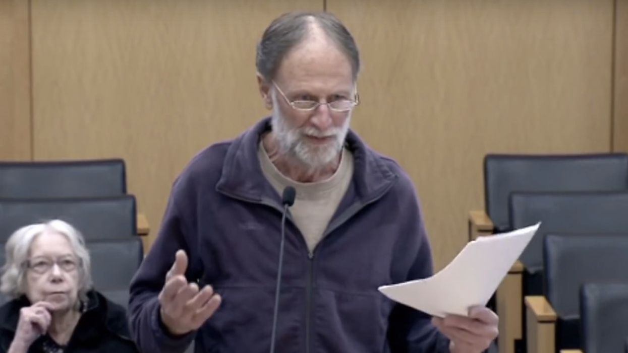 Watch: Private citizen puts Seattle City Council in its place when members won't even 'look up' from their 'computers and give attention'