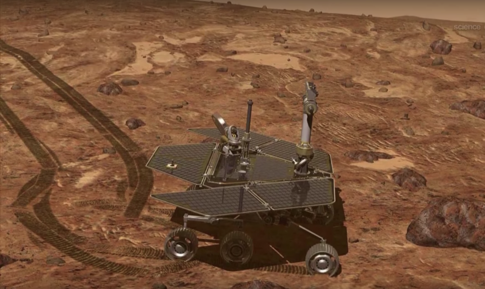 Saying Goodbye To 'Oppy,' The Little Rover That Did