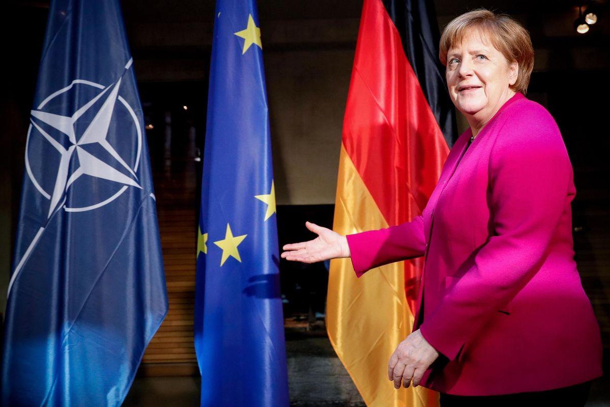 Sull'Iran la Merkel è ancora contro gli Stati Uniti