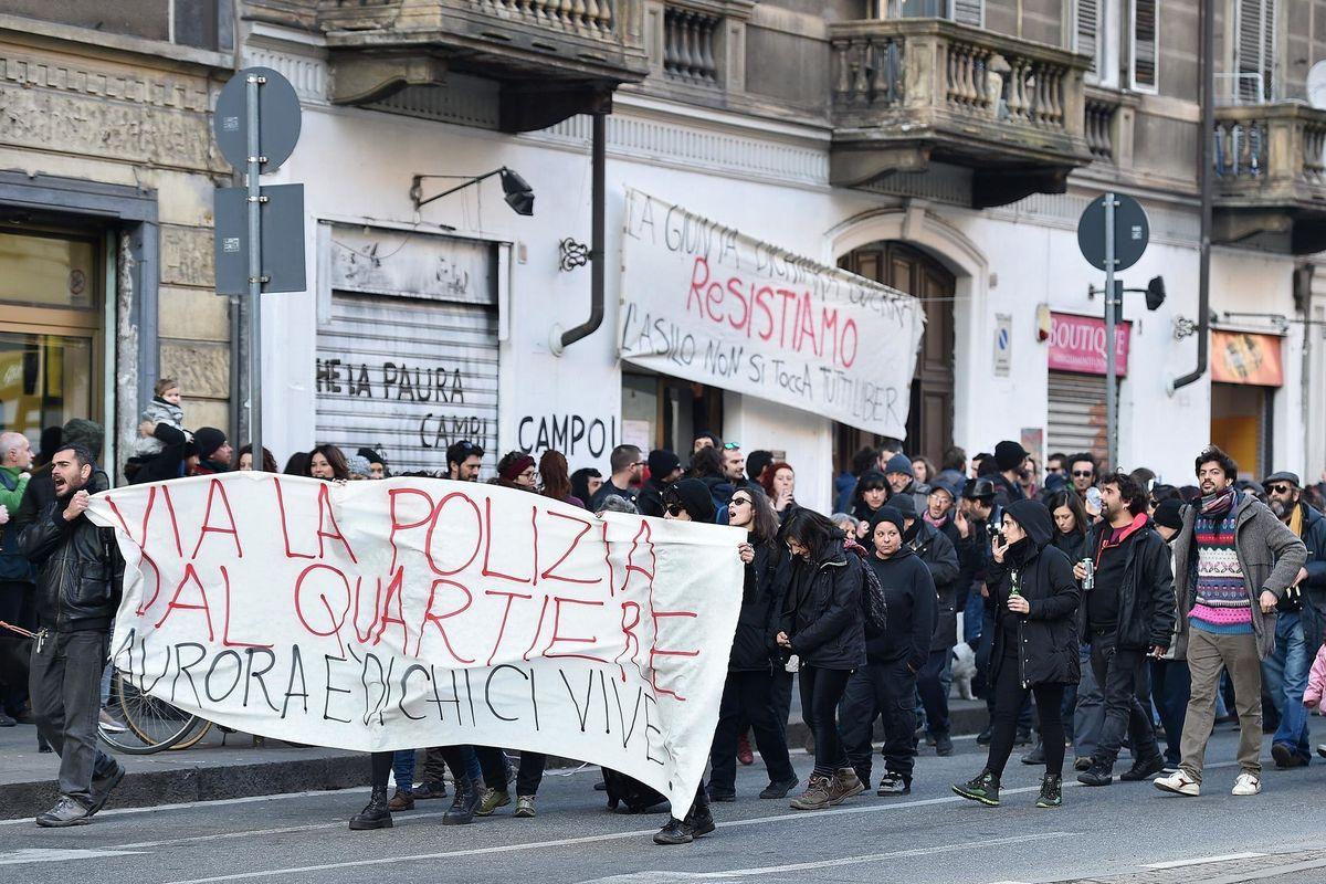 A Torino cova il virus della nuova anarchia
