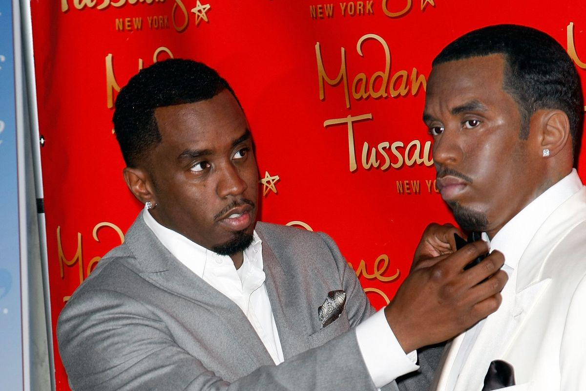 Someone Really Doesn't Like Diddy's Wax Figure
