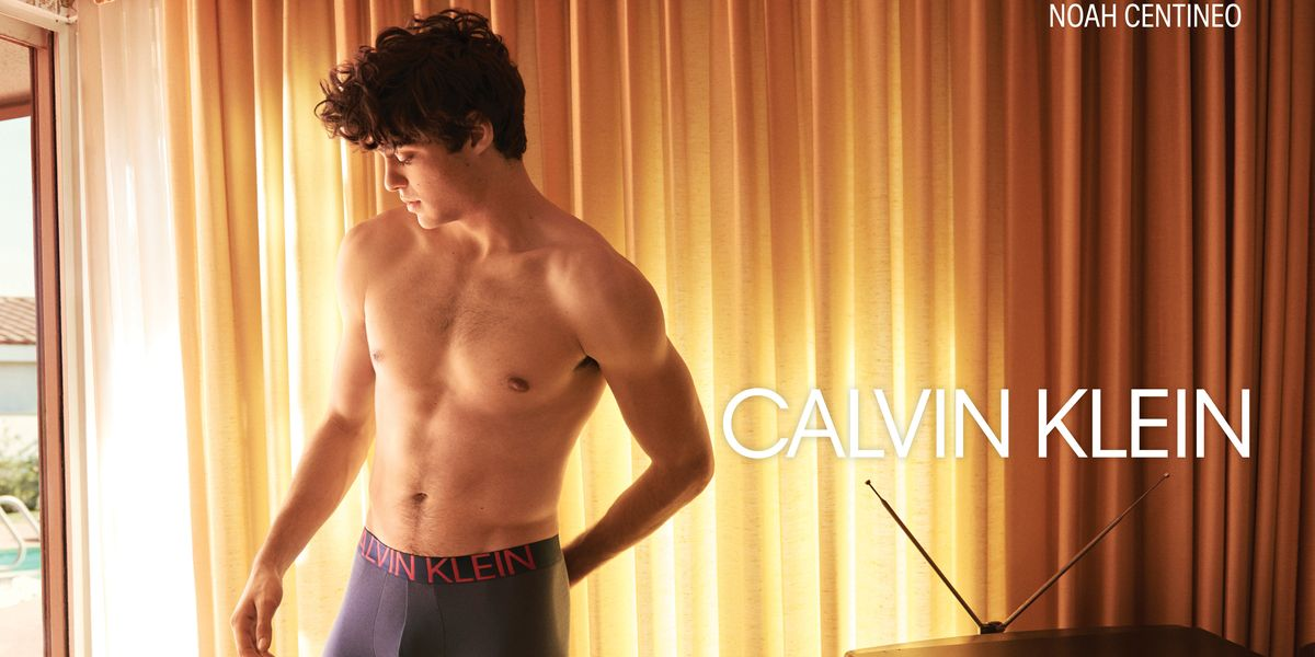 Shirtless Noah Centineo Joins Shawn Mendes For #MyCalvins