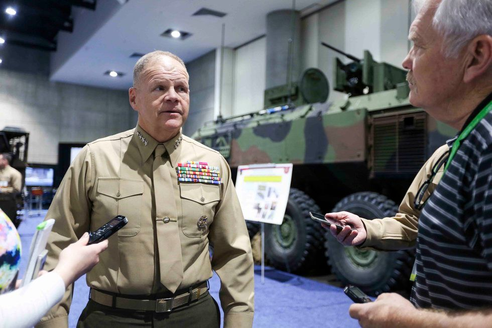 Gen Neller says the Marines are training against near peers