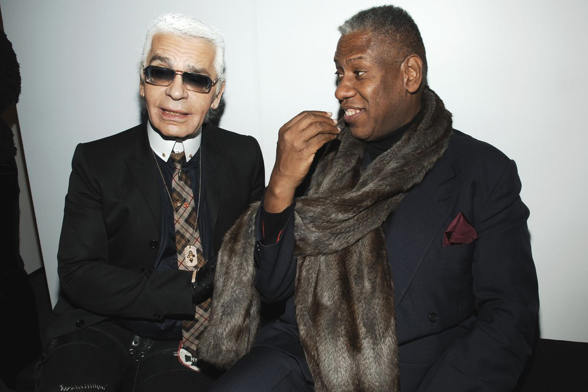 André Leon Talley Remembers 'Surrogate Brother' Karl Lagerfeld