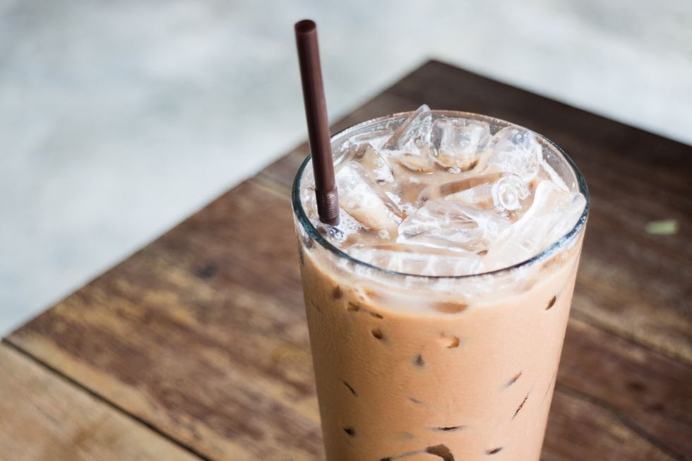 Completely Chill With Iced Coffee In The Winter