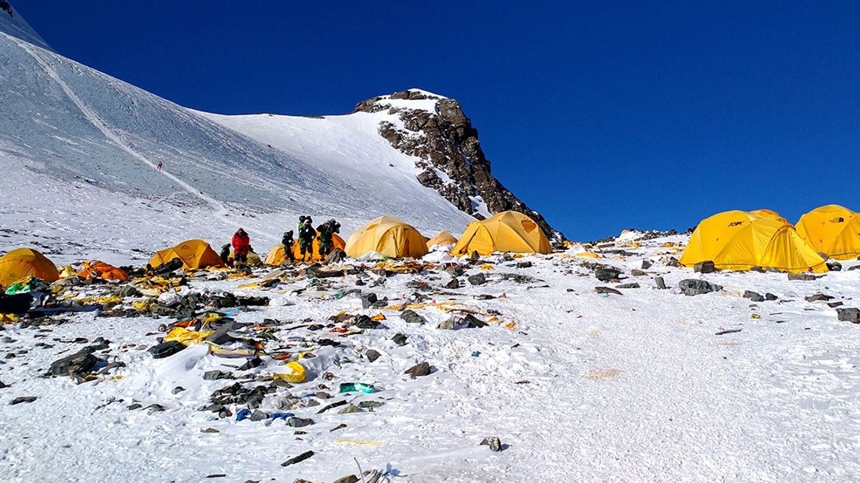 Tourists Are Trashing the World's Tallest Mountain, So China Has Banned Them From Its Base Camp