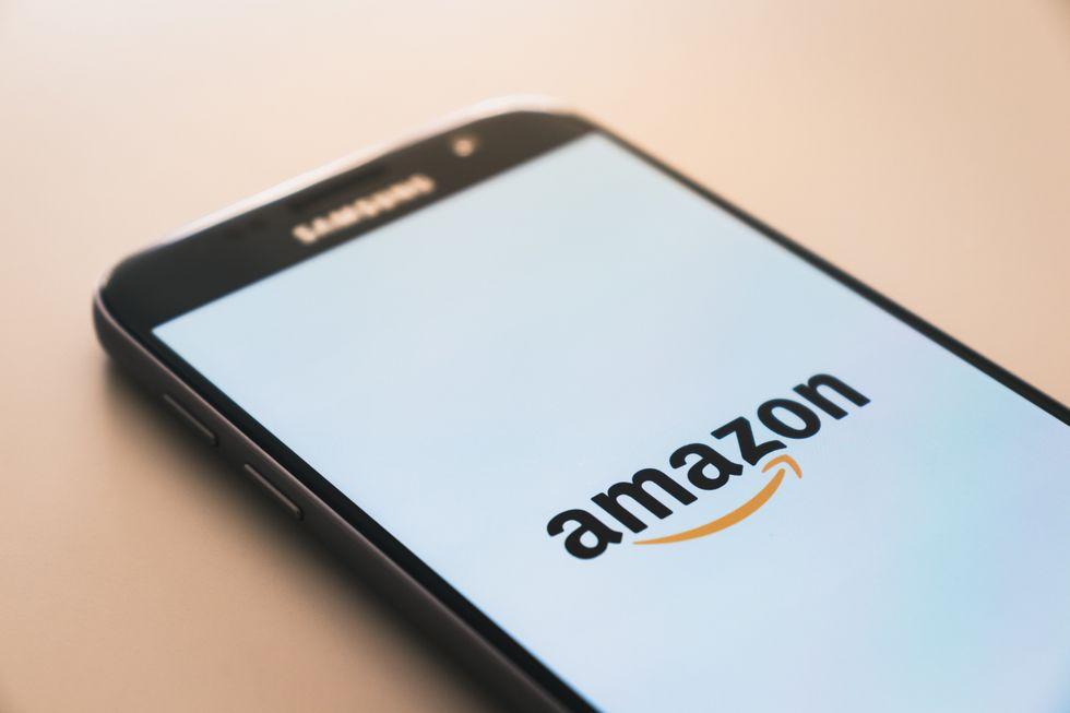 Amazon on a Samsung phone