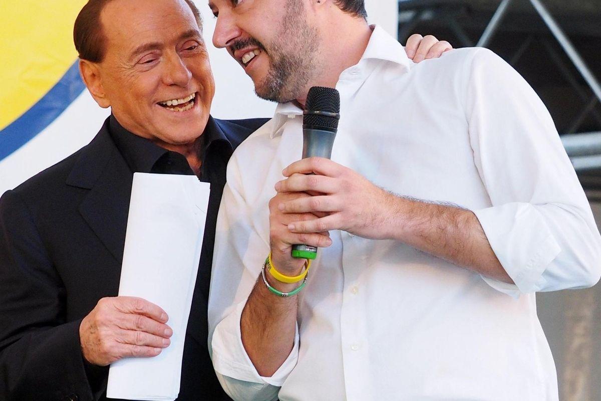 In Lombardia Salvini si tiene stretto Berlusconi