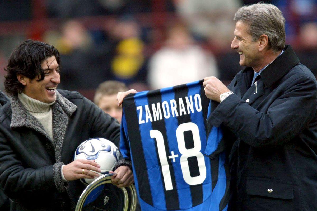 Il santino icona inviolabile dell'Inter e del nostro calcio