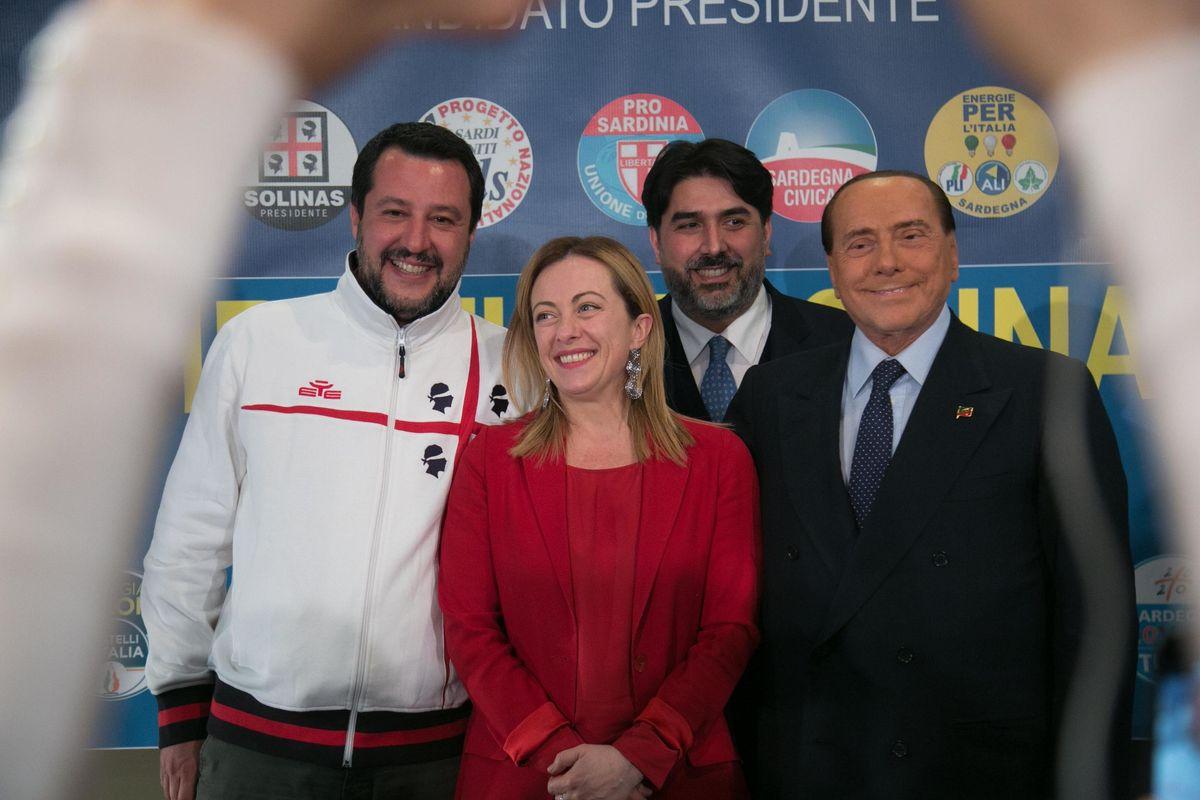 Il centrodestra vincerà in Sardegna Ma Salvini avvisa: il governo va avanti