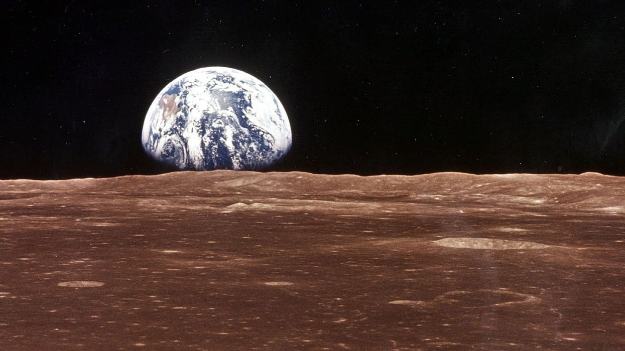 The Moon is inside Earth's atmosphere, European researchers say