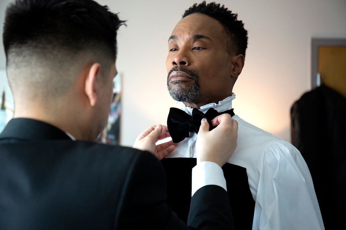 The Story Behind Billy Porter's Triumphant Oscars Gown