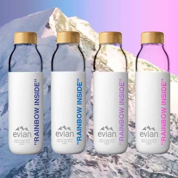 Virgil Abloh and Evian Share a Refreshing New Collaboration