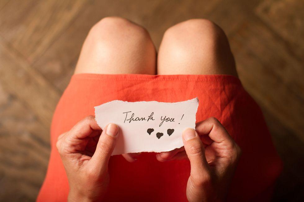 Dear Boyfriend, Thank You
