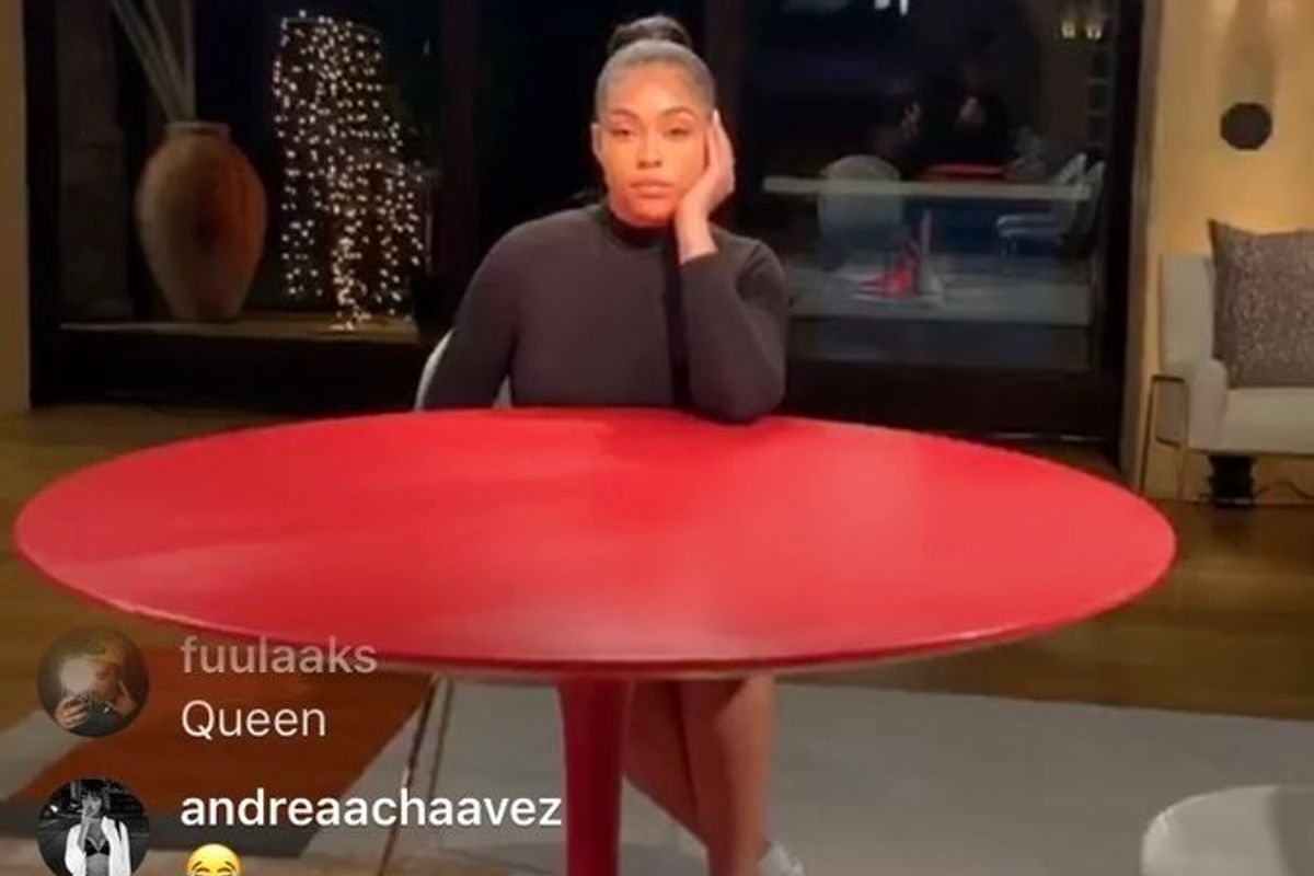 Jordyn Woods Is About to Spill the Tea on 'Red Table Talk'