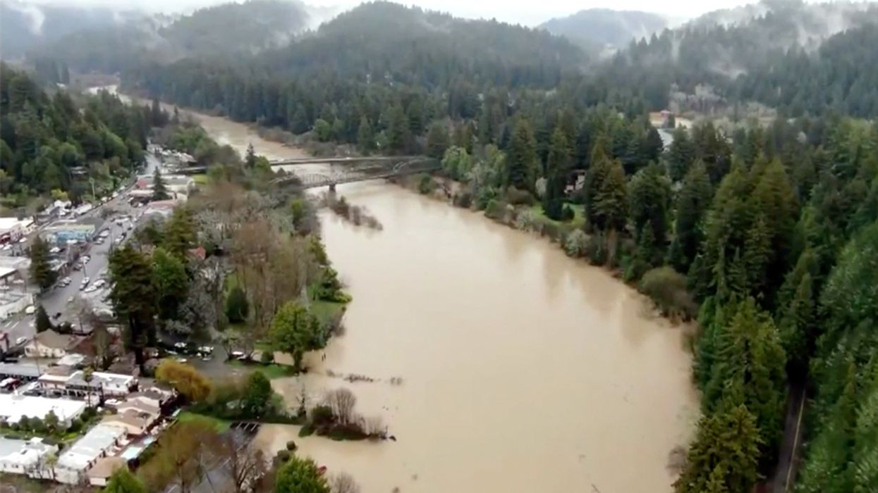Thousands Evacuated in Northern California Ahead of Worst Flooding in More Than 20 Years