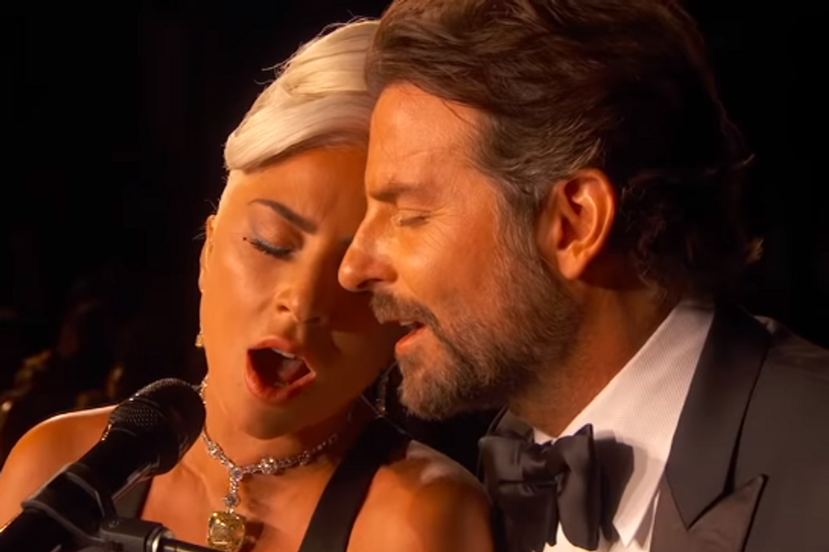 Lady Gaga Denies Being In Love With Bradley Cooper