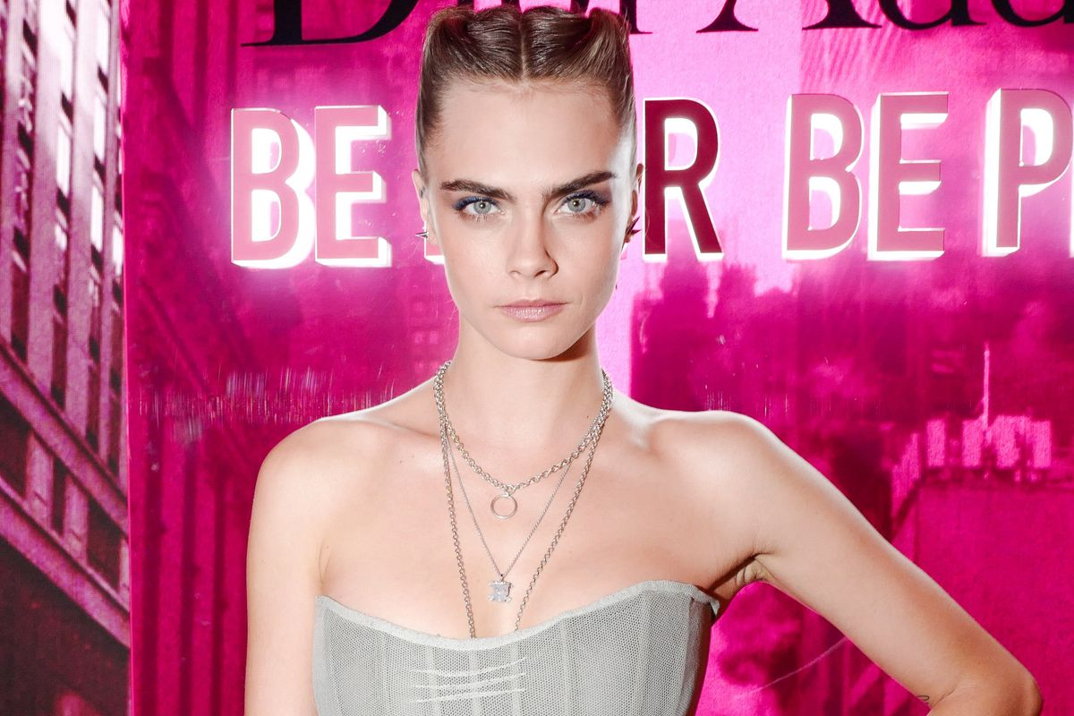 Dior Celebrated Its Latest Lipstick Launch with Cara Delevingne