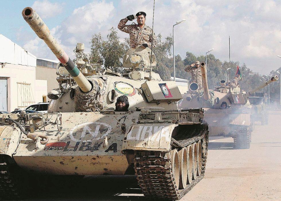 Haftar è pronto a conquistare Tripoli