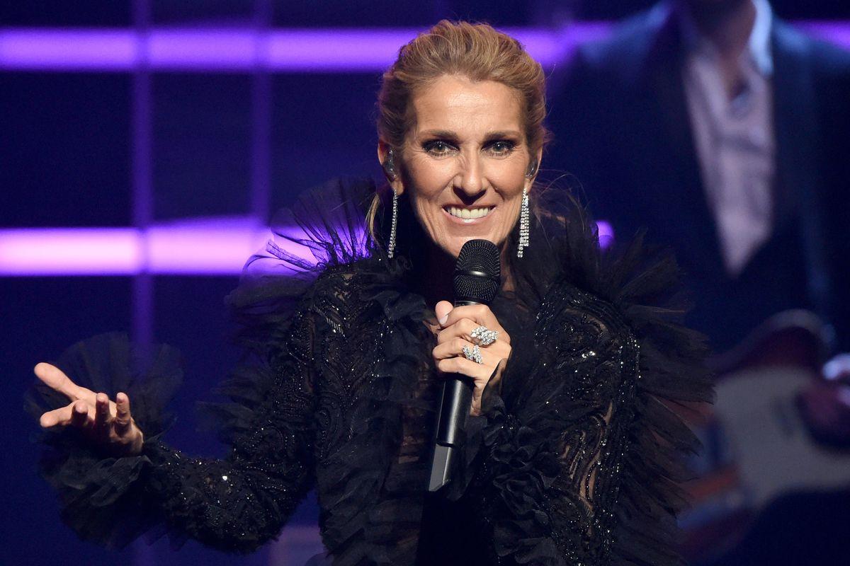Celine Dion Crashes a Vegas Wedding