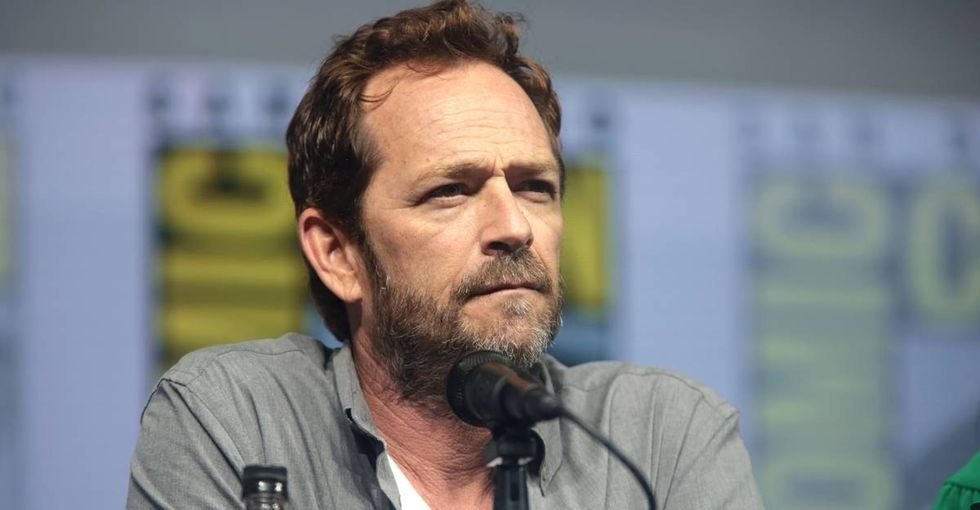 Luke Perry shared how one attitude adjustment helped him overcome 256 rejections and get his first real acting job.