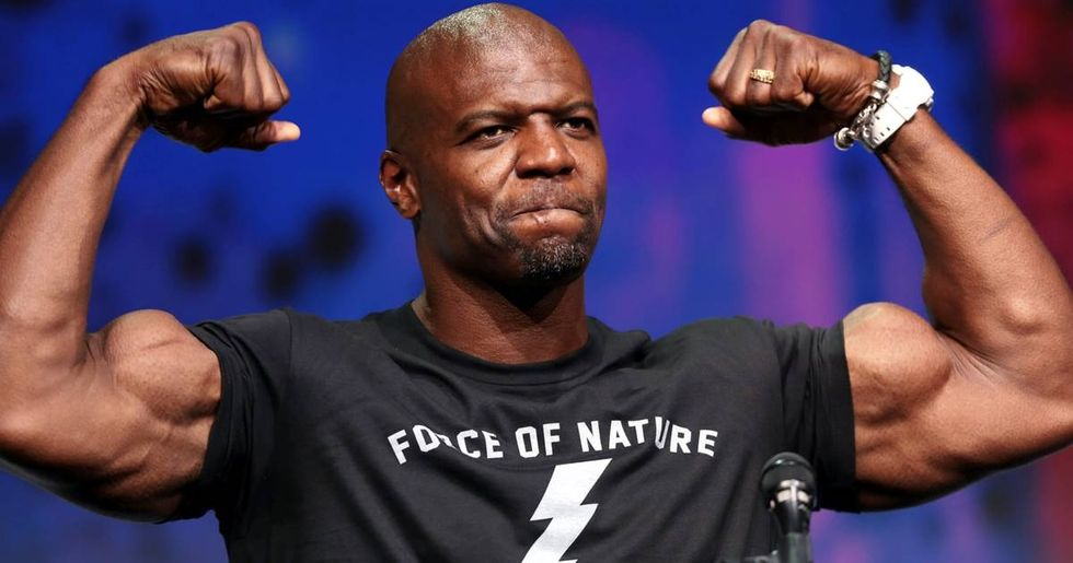 Terry Crews has a simple way of describing toxic masculinity to men who don't get it.
