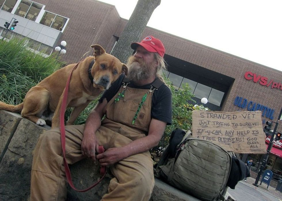 Why the homeless need their pets.