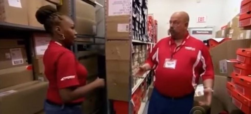 An 'undercover boss' is profoundly moved when he learns a great employee is homeless.