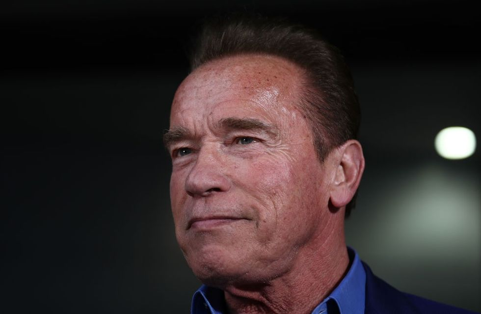 Arnold Schwarzenegger says his parents abused him because they thought he was gay.