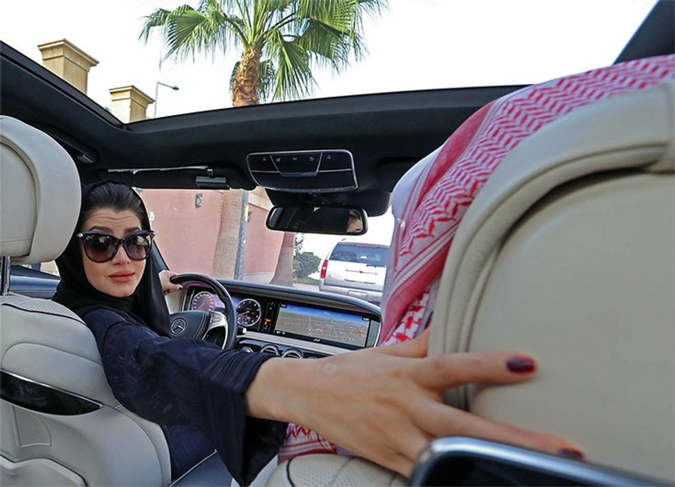 Women are hitting the road in Saudi Arabia. Here's why it's a huge deal.
