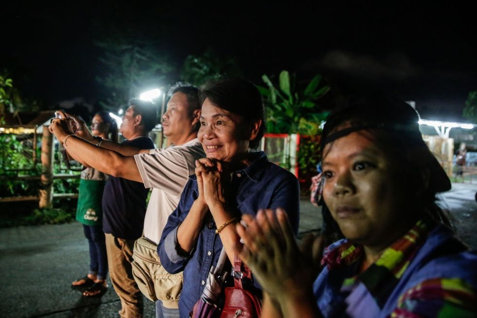 They're all safe! The internet is filled with joy after a successful Thai cave rescue.