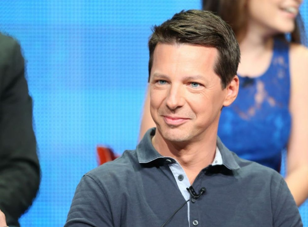 Sean Hayes' mom wrote him a 10-page letter after he came out. It wasn't too nice.