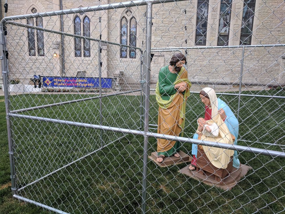 This church wanted to make a bold point about family separation. It succeeded.