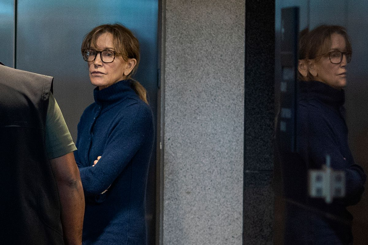 Felicity Huffman Pleads Guilty for Scamming Her Daughter Into College
