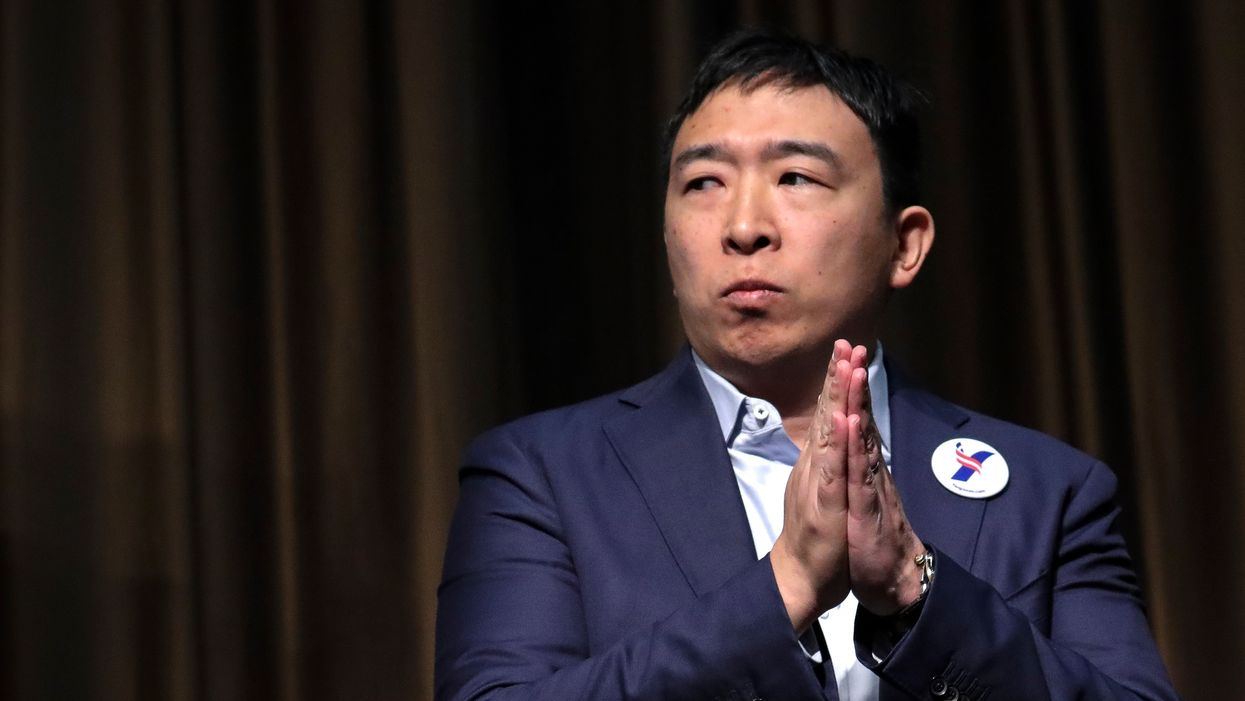 Andrew Yang wants to tax Silicon Valley to fund universal basic income plan