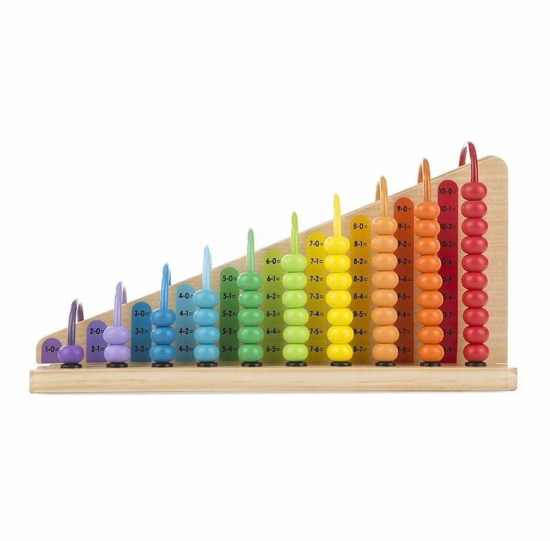 Melissa and Doug add and subtract beads