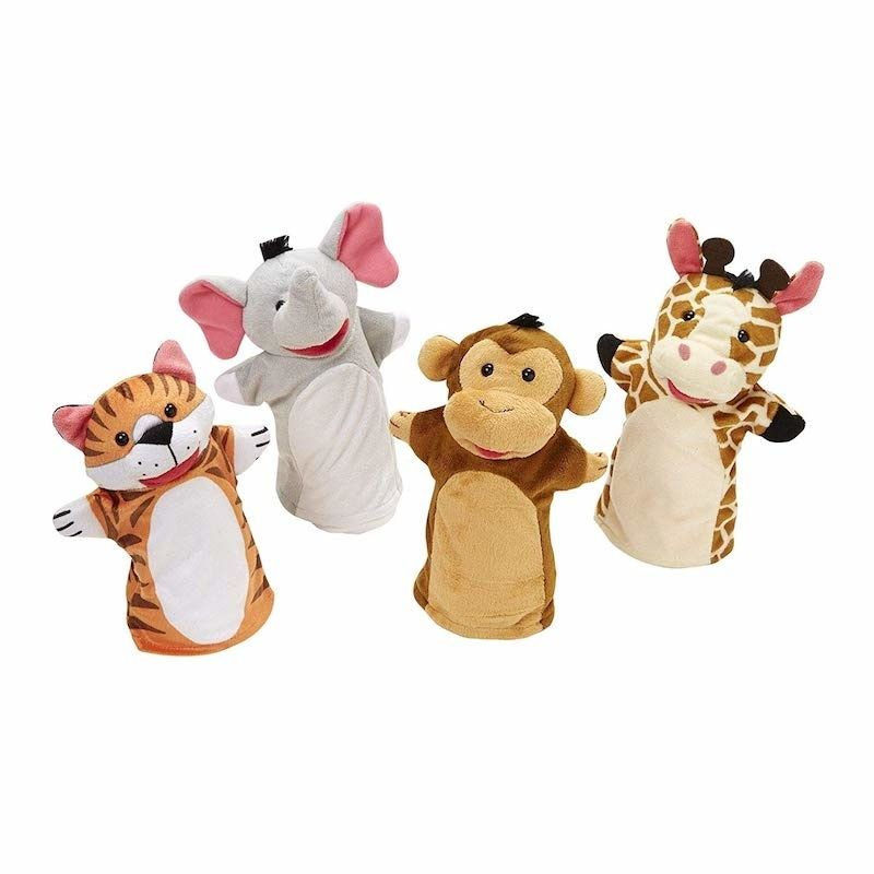 Melissa and Doug zoo puppets