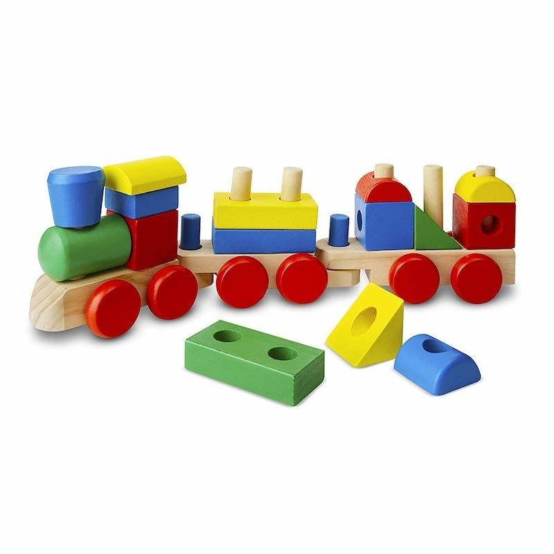 Melissa and Doug wooden stacking toy