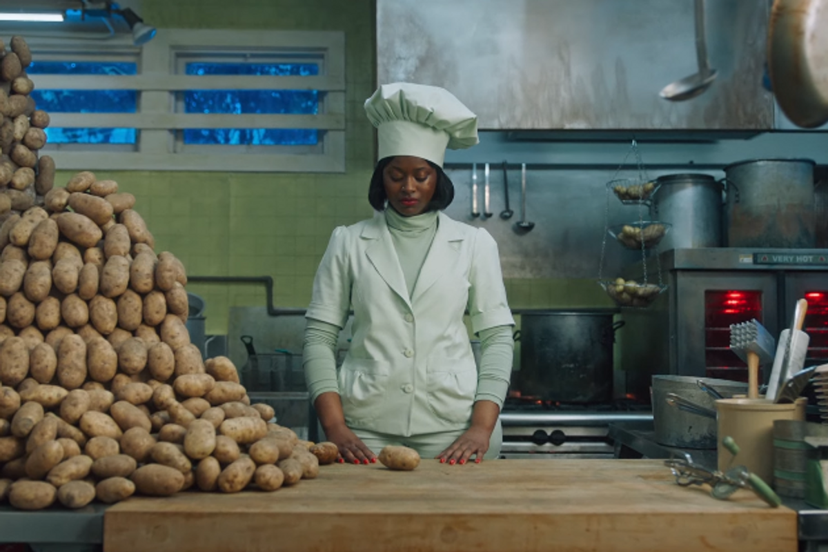 Watch Tierra Whack Murder Some Potatoes