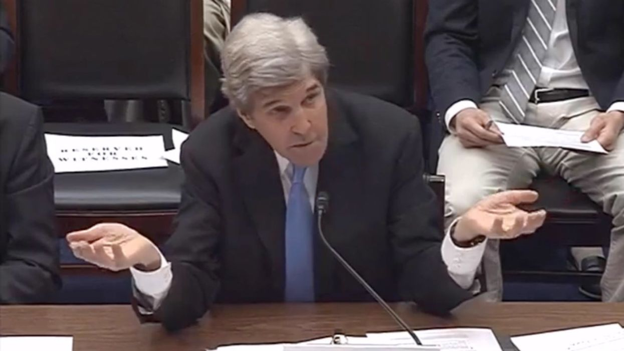 MIT-educated GOP congressman grills John Kerry for 'pushing pseudo science' on climate change