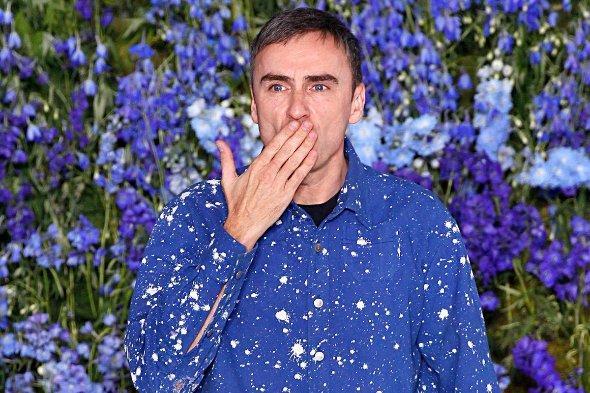 Raf Simons Will Show a Textile Collection at Milan Design Week