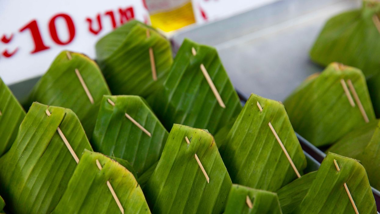 Supermarkets in Thailand and Vietnam Swap Plastic Packaging for Banana Leaves