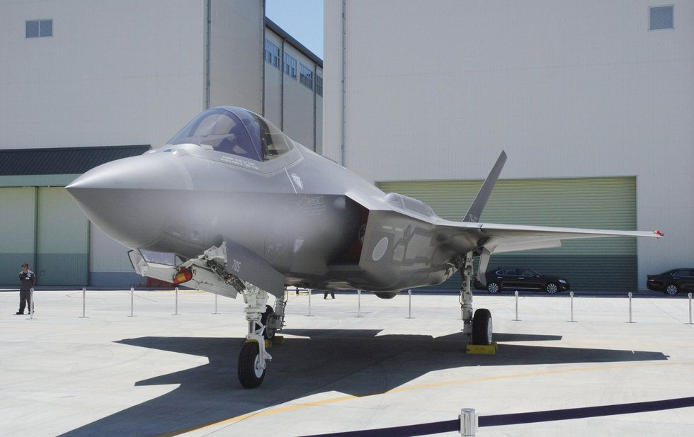 Crashed Japanese F-35 Wreckage Found In Pacific - Task & Purpose