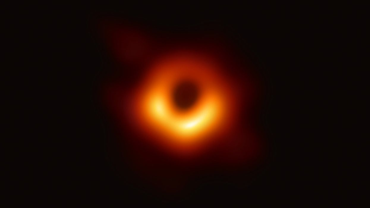 This Is the First-Ever Photo of a Black Hole