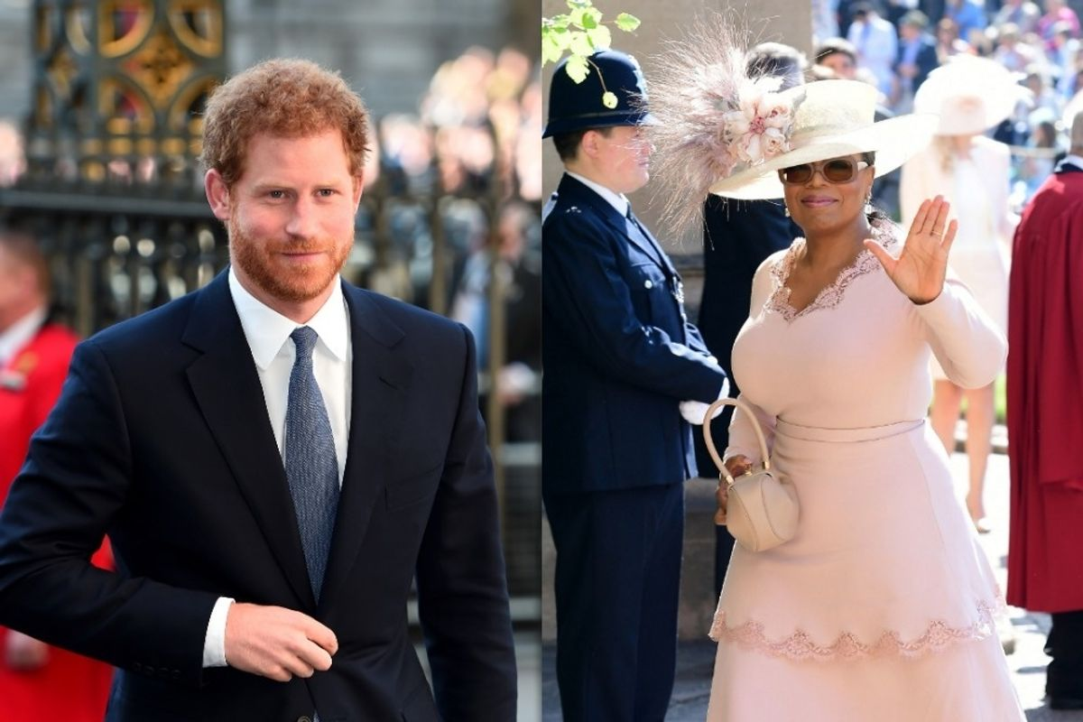 Oprah and Prince Harry Are Making a TV Show About Mental Health