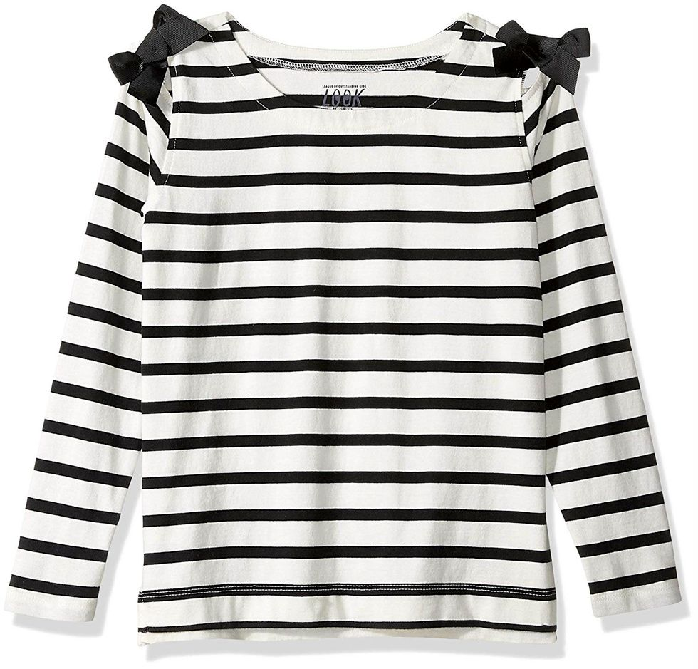 crewcuts striped shirt with bows