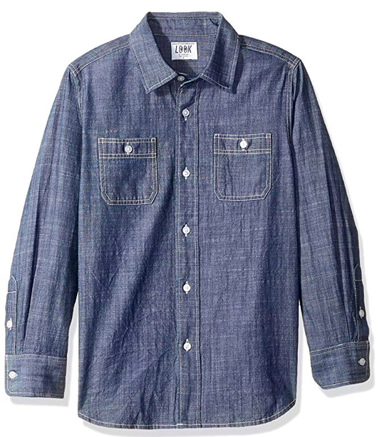 J.Crew Chambray shirt boys