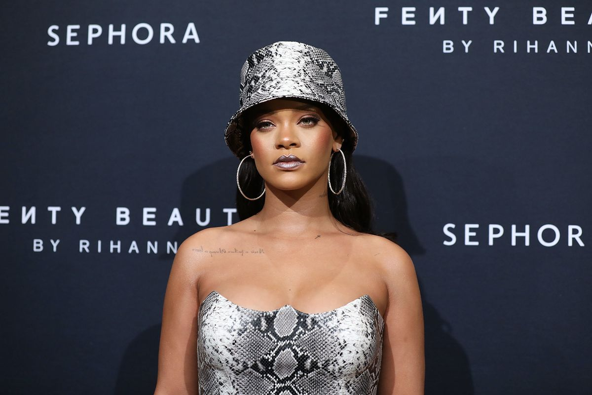 Rihanna Hints She had a Nipsey Hussle Collab in the Works