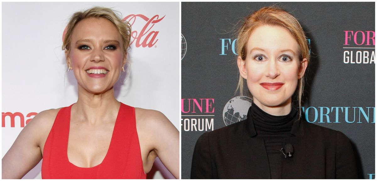 Of Course Kate McKinnon Is Being Tapped To Play Elizabeth Holmes